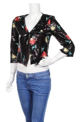 Дамско сако Gaudi, Размер M, Цвят Черен, 100% полиестер, Цена 68,70лв.