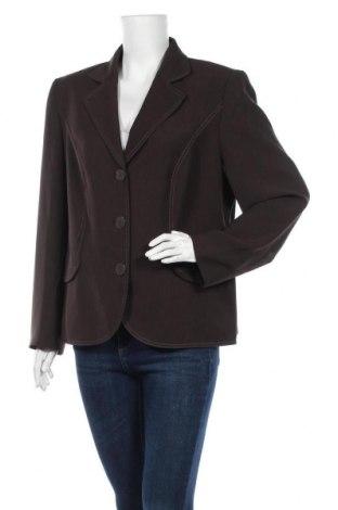 Дамско сако Gerry Weber, Размер XL, Цвят Кафяв, Полиестер, Цена 6,83лв.