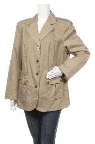 Дамско сако Grandiosa, Размер XL, Цвят Бежов, Цена 6,30лв.