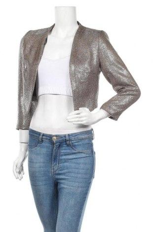 Дамско сако H&M, Размер S, Цвят Бежов, Полиестер, Цена 17,06лв.