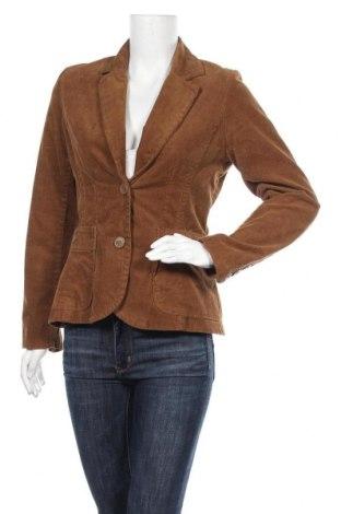 Дамско сако H&M, Размер L, Цвят Кафяв, 98% памук, 2% еластан, Цена 16,91лв.