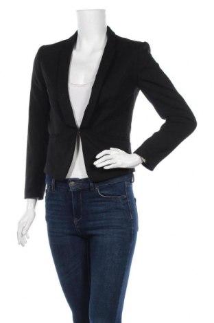 Дамско сако H&M, Размер S, Цвят Черен, 64% полиестер, 34% вискоза, 2% еластан, Цена 19,11лв.
