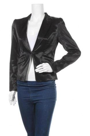 Дамско сако H&M, Размер M, Цвят Черен, 52% памук, 45% полиестер, 3% еластан, Цена 5,88лв.