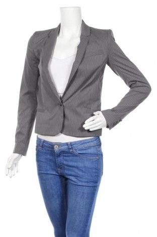 Дамско сако IKKS, Размер XS, Цвят Сив, 70% полиестер, 30% памук, Цена 64,07лв.
