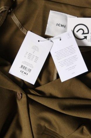 Дамско сако Ichi, Размер XL, Цвят Зелен, 74% полиестер, 22% вискоза, 4% еластан, Цена 27,65лв.
