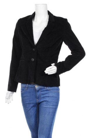 Дамско сако La Redoute, Размер M, Цвят Черен, 99% памук, 1% еластан, Цена 6,00лв.