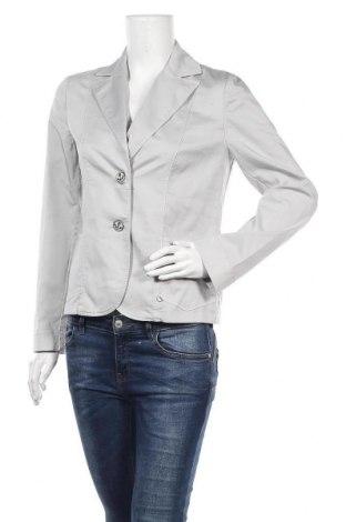 Дамско сако Le Phare De La Baleine, Размер L, Цвят Сив, 67% памук, 30% полиестер, 3% еластан, Цена 23,22лв.
