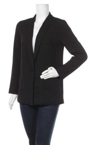 Γυναικείο σακάκι Le Temps Des Cerises, Μέγεθος S, Χρώμα Μαύρο, Πολυεστέρας, Τιμή 22,94€
