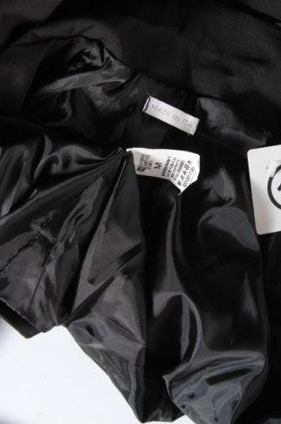 Дамско сако Made In Italy, Размер S, Цвят Черен, 95% памук, 5% еластан, Цена 22,36лв.