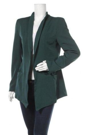 Дамско сако Naoko, Размер L, Цвят Зелен, 60% полиестер, 40% вискоза, Цена 26,07лв.