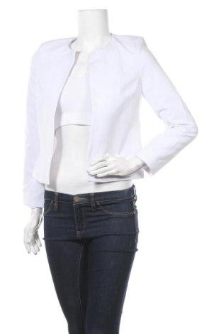 Дамско сако Nife, Размер M, Цвят Бял, 60% полиестер, 35% вискоза, 5% еластан, Цена 37,92лв.