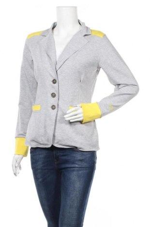 Дамско сако Online, Размер M, Цвят Сив, 95% памук, 5% еластан, Цена 17,75лв.