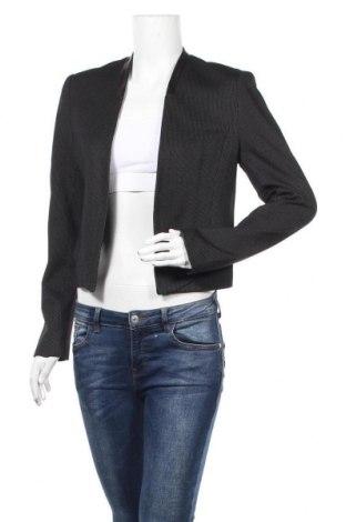 Дамско сако Orsay, Размер M, Цвят Черен, 64% вискоза, 20% полиамид, 12% полиестер, 4% еластан, еко кожа, Цена 18,48лв.