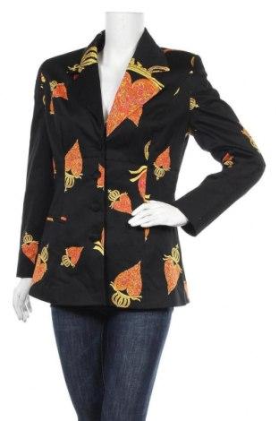 Дамско сако Pompoos Design By Harald Gloockler, Размер M, Цвят Черен, 97% памук, 3% еластан, Цена 23,10лв.