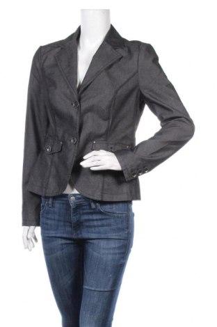 Дамско сако S.Oliver, Размер M, Цвят Черен, 61% памук, 37% полиестер, 2% еластан, Цена 5,25лв.
