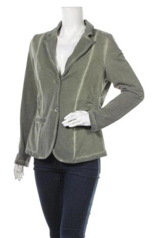 Дамско сако Sa. Hara, Размер XL, Цвят Зелен, 96% памук, 4% еластан, Цена 12,76лв.