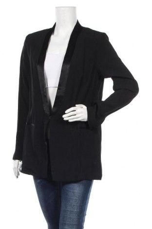 Дамско сако Sisley, Размер L, Цвят Черен, 86% вискоза, 14% полиестер, Цена 51,60лв.