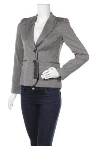 Дамско сако Sisley, Размер XS, Цвят Сив, 64% полиестер, 33% вискоза, 3% еластан, Цена 42,57лв.