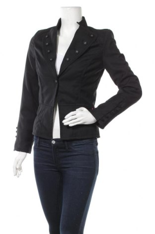 Дамско сако St-Martins, Размер S, Цвят Черен, 67% полиестер, 33% вискоза, Цена 11,32лв.