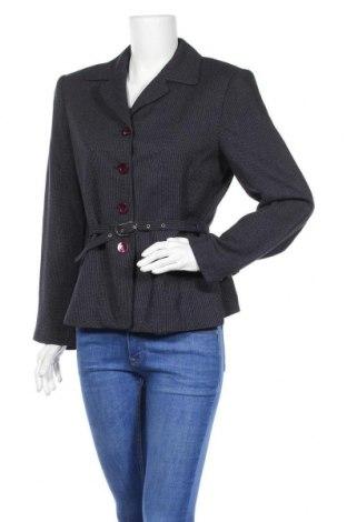 Дамско сако Stefanel, Размер L, Цвят Син, Цена 42,16лв.