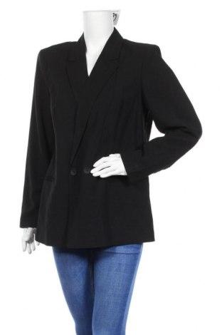 Дамско сако Vero Moda, Размер L, Цвят Черен, 93% вискоза, 7% полиестер, Цена 27,65лв.
