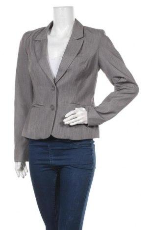 Дамско сако Vero Moda, Размер M, Цвят Сив, 80% полиестер, 16% вискоза, 4% еластан, Цена 7,09лв.