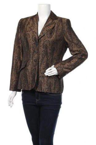Γυναικείο σακάκι Vittoria Verani, Μέγεθος M, Χρώμα Καφέ, 51% ασετάτ, 49% πολυεστέρας, Τιμή 6,37€