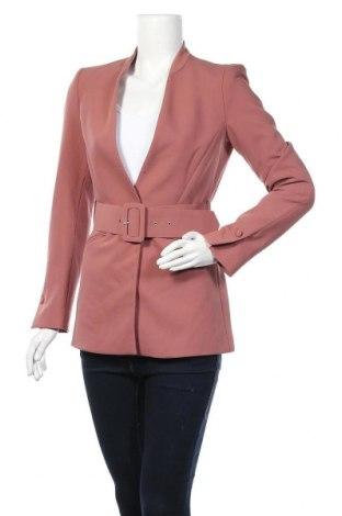 Γυναικείο σακάκι Zara, Μέγεθος S, Χρώμα Σάπιο μήλο, 74% πολυεστέρας, 19% βισκόζη, 7% ελαστάνη, Τιμή 34,49€