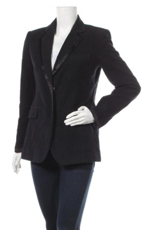 Dámské sako  Zara, Velikost M, Barva Modrá, Bavlna, Cena  291,00Kč
