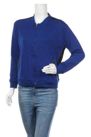 Γυναικεία αθλητική ζακέτα Alcott, Μέγεθος M, Χρώμα Μπλέ, 65% πολυεστέρας, 35% βαμβάκι, Τιμή 10,67€