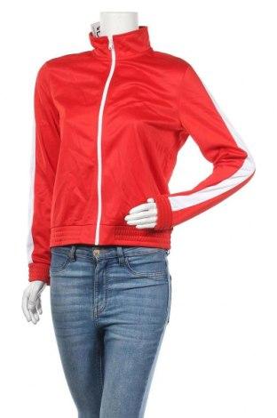 Дамско спортно горнище H&M Divided, Размер M, Цвят Червен, Полиестер, Цена 9,45лв.