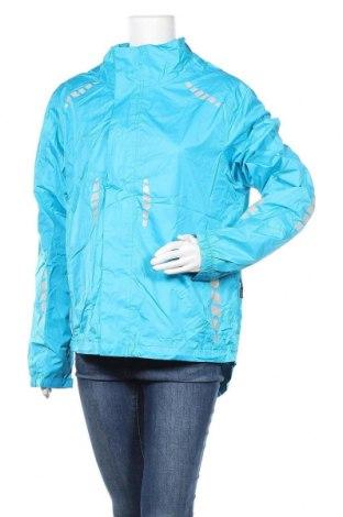 Дамско спортно яке, Размер L, Цвят Син, Полиестер, Цена 22,68лв.
