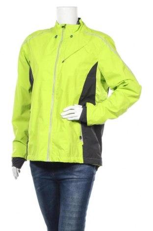 Дамско спортно яке Active By Tchibo, Размер XL, Цвят Зелен, Полиестер, Цена 29,93лв.
