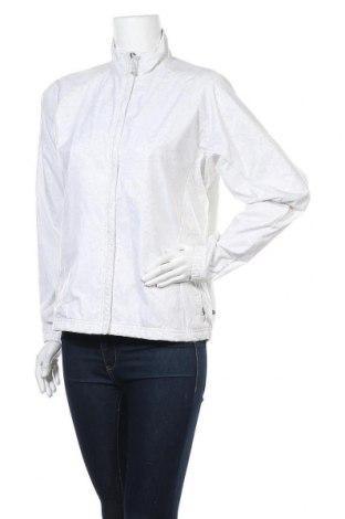 Γυναικείο μπουφάν αθλητικό Adidas, Μέγεθος L, Χρώμα Λευκό, Πολυαμίδη, Τιμή 21,92€