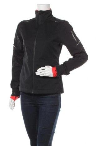 Дамско спортно яке Brooks, Размер M, Цвят Черен, 79% полиестер, 21% полиуретан, Цена 41,58лв.