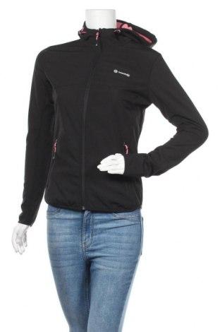 Дамско спортно яке Mountain, Размер S, Цвят Черен, Цена 44,10лв.