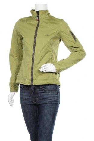 Дамско спортно яке Ock, Размер S, Цвят Зелен, Полиестер, Цена 15,44лв.