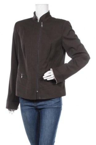 Дамско яке, Размер M, Цвят Кафяв, 64% полиестер, 34% вискоза, 2% еластан, Цена 9,45лв.