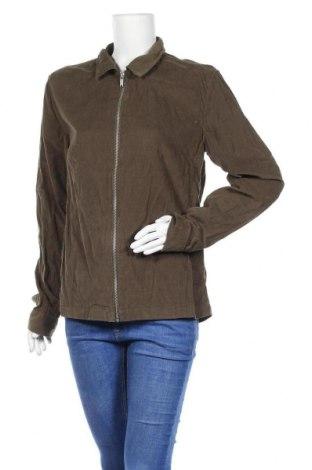 Дамско яке, Размер M, Цвят Зелен, Памук, Цена 8,82лв.