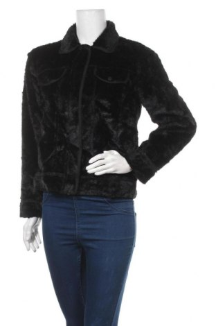 Дамско яке, Размер M, Цвят Черен, 100% полиестер, Цена 8,93лв.