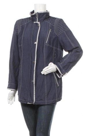 Дамско яке, Размер XL, Цвят Син, 50% памук, 45% полиестер, 5% метални нишки, Цена 14,11лв.