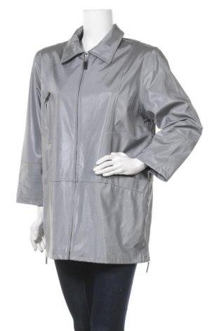 Дамско яке, Размер L, Цвят Сив, 100% полиестер, Цена 11,76лв.