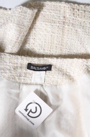 Дамско яке Balsamik, Размер L, Цвят Бежов, 40% акрил, 30% памук, 29% полиестер, 1% метални нишки, Цена 25,60лв.