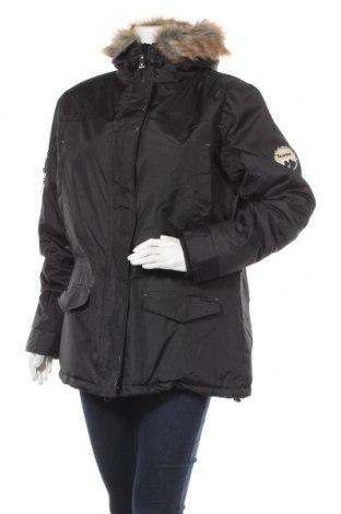 Γυναικείο μπουφάν Bearpaw, Μέγεθος L, Χρώμα Μαύρο, Πολυεστέρας, Τιμή 31,73€