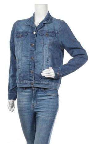 Дамско яке Buffalo, Размер M, Цвят Син, 88% памук, 11% полиестер, 1% еластан, Цена 24,99лв.