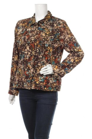 Γυναικείο μπουφάν Christopher & Banks, Μέγεθος L, Χρώμα Πολύχρωμο, 97% πολυεστέρας, 3% ελαστάνη, Τιμή 4,81€