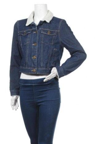 Дамско яке Cotton On, Размер M, Цвят Син, 70% памук, 25% полиестер, 5% вискоза, Цена 22,68лв.