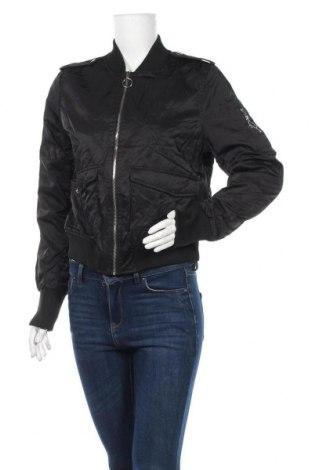Дамско яке Cotton On, Размер M, Цвят Черен, 60% полиестер, 40% полиамид, Цена 13,99лв.