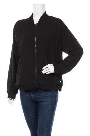 Дамско яке DKNY, Размер XL, Цвят Черен, 88% полиестер, 12% еластан, Цена 86,73лв.