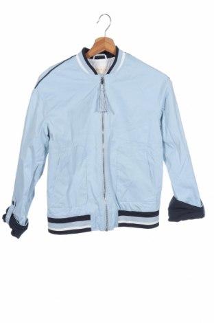 Дамско яке Esprit, Размер XS, Цвят Син, 47% полиамид, 49% памук, 4% еластан, Цена 22,52лв.
